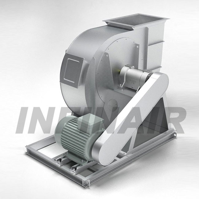 Backward Curved SWSI Centrifugal Fan - Wheel Type K - YFBCSK