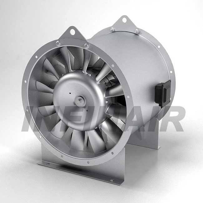 High Efficient Inline Vane Axial Fan Impeller Type M - YFIAM