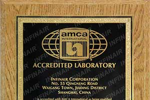 AMCA Accredited INFINAIR's Reverberant Room